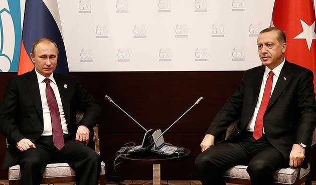 Putin: Türkiye ile çözüme biraz daha yaklaştık