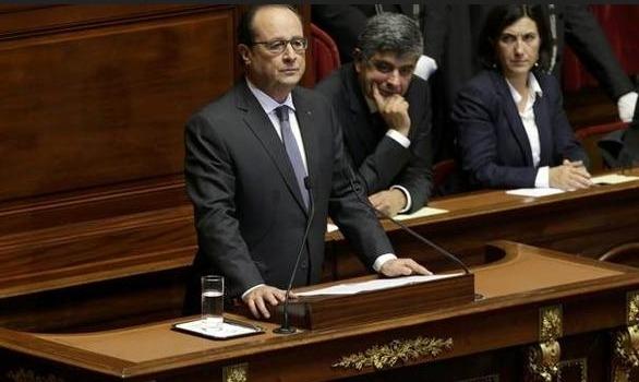 Hollande: Savaştayız, olağanüstü hal 3 ay uzatılsın