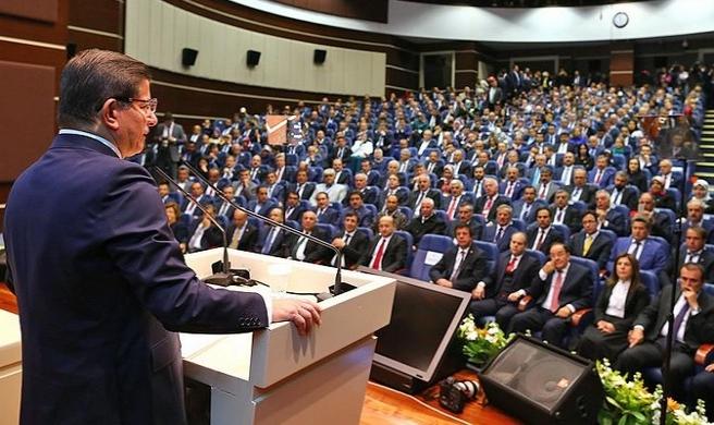 Davutoğlu'dan teşkilatlara 'kutuplaşma' uyarısı