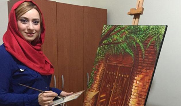 İranlı ressam Majd: Sanat eseri toplumsal sorunlara değinir