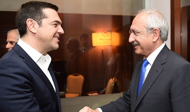 Kılıçdaroğlu Çipras ile görüştü
