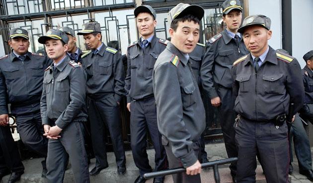 Kırgızistan'da güvenlik önlemleri arttırıldı