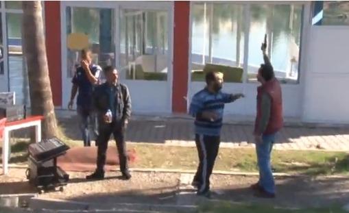 Adana'da polis-esnaf arasında silahlı çatışma