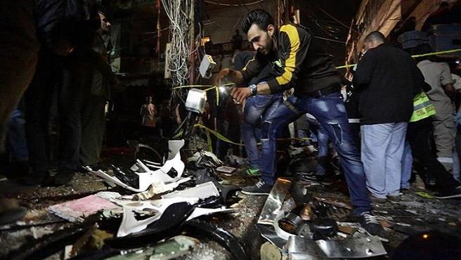 Lübnan'daki saldırılar intiharcı bir grup tarafından yapılmış
