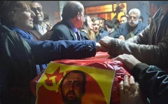 CHP'li vekiller PKK'lı cenazesinde