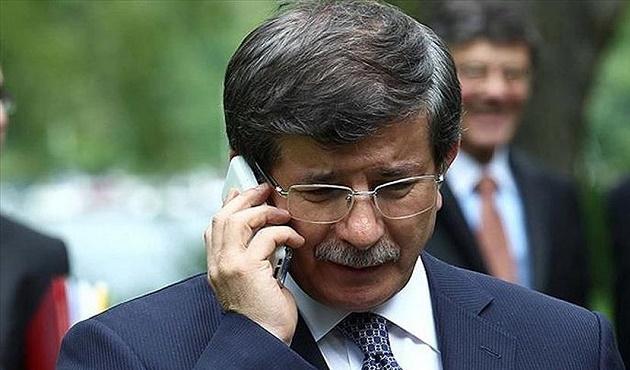 Davutoğlu, İtalya Başbakanı Renzi ile telefonda görüştü