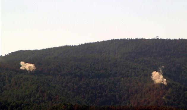 Türkmen Dağı'nda gece boyunca çatışmalar sürdü