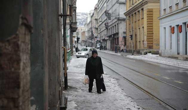 Balkanlar'a ilk kar yağdı