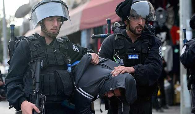 İsrail'den Filistinlilere müdahale; 6 yaralı