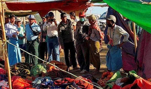 Myanmar'da madende heyelan; 80 ölü