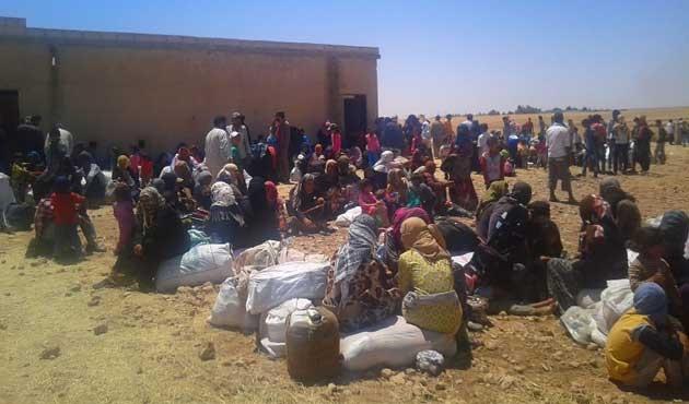 AFAD'dan Bayırbucak Türkmenleri'ne yardım