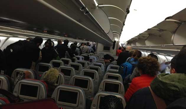 Acil iniş yapan THY uçağı İstanbul'a hareket ediyor