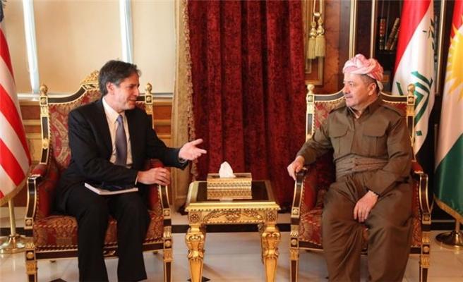 ABD Dışişleri Bakan Y. Blinken'den Barzani'ye destek