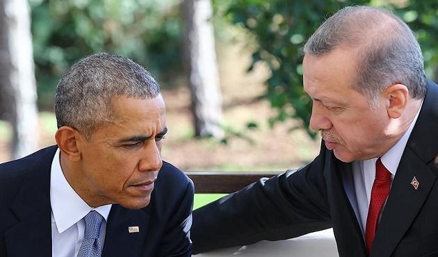 Erdoğan ve Obama'dan telefon görüşmesi
