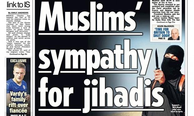 The Sun gazetesinin İslamofobiyi körüklemesine tepki