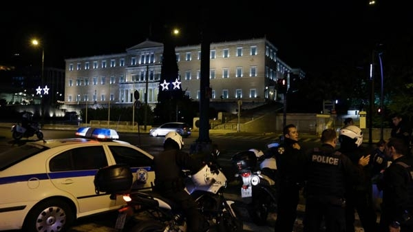 Atina'ya bombalı saldırı