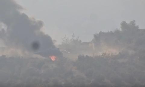 Bir Rus helikopteri de düşürüldü | VIDEO