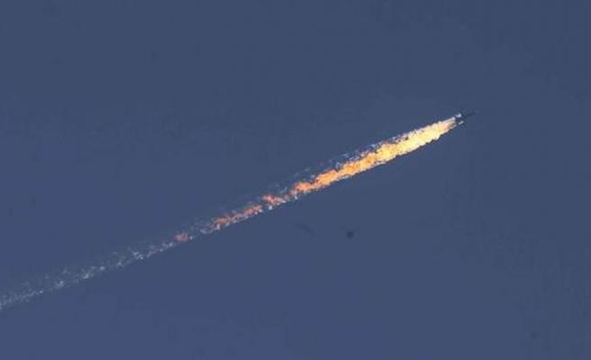 Sınır ihlali yapan Rus uçağı düşürüldü | VIDEO