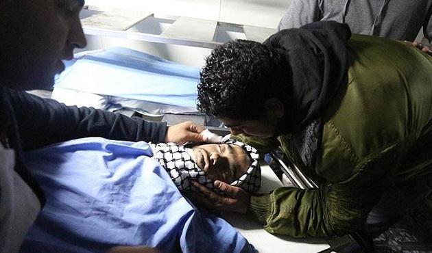 Kalbinden vurulan Filistinli çocuk hayatını kaybetti