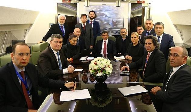 Davutoğlu: Türkiye güvenliği söz konusuysa tereddüt etmez