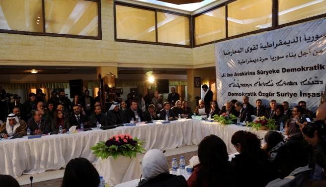Suriye'de Kürtlerden yeni bir siyasi oluşum