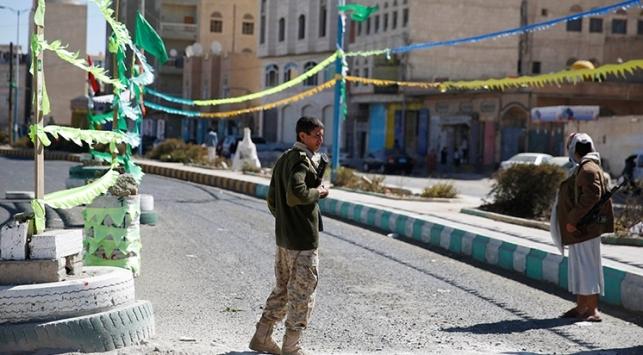 Yemen'in bir şehrinde sokağa çıkma yasağı