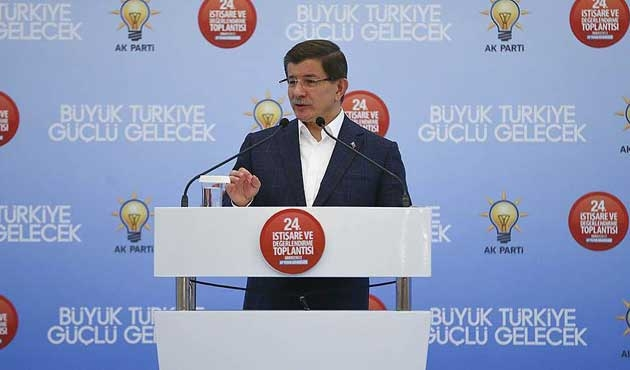 Davutoğlu'ndan 'operasyonlara devam' vurgusu