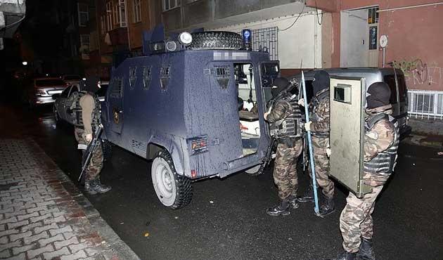 İstanbul'da IŞİD operasyonu; 10 gözaltı