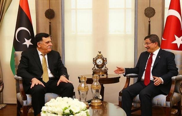 Davutoğlu, Libya başbakanı ile görüştü