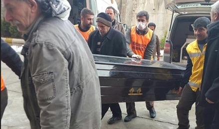 PKK'lıların cenazesini HDP'liler aldı