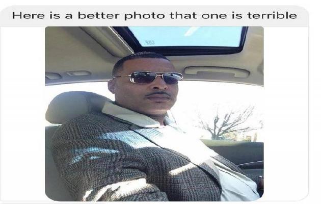 Aranan zanlı polise 'yakışıklı' fotoğrafını yolladı