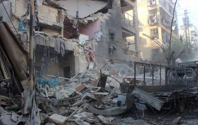 Rus uçakları Halep'te yine sivilleri hedef aldı