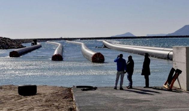 Türkeş: Kıbrıs'a giden su denize verilmiyor