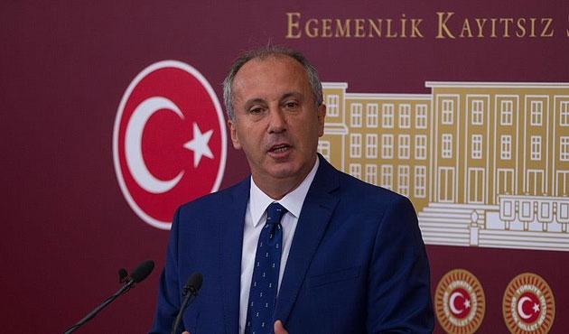 İnce'den Cumhurbaşkanı Erdoğan için tepki çeken benzetme