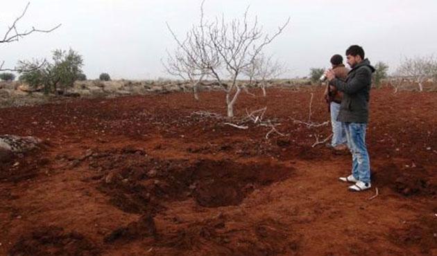 Suriye'den Kilis'e havan mermisi düştü