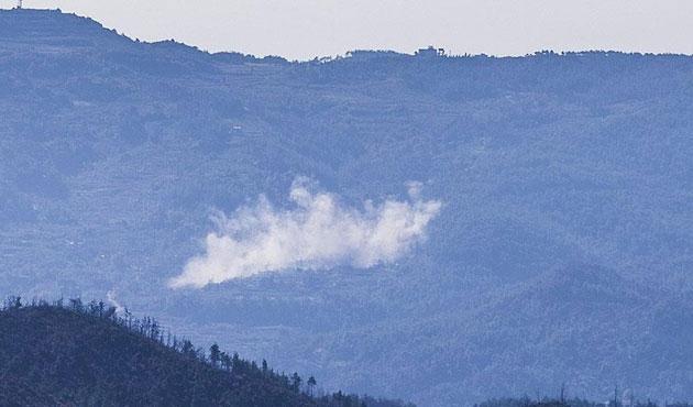 Rusya'dan Türkmendağı'na yoğun hava saldırıları
