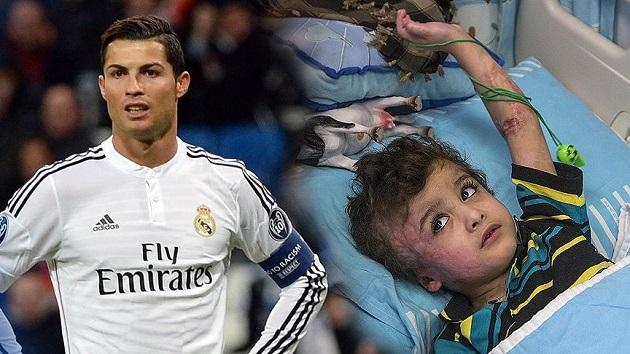 Filistinli yetim Ronaldo ile buluşacak