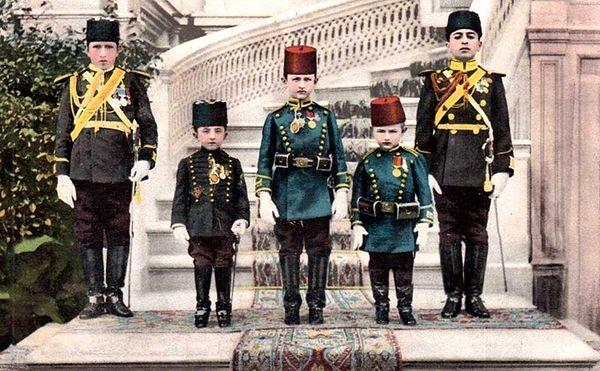 Sultan'ın oğulları