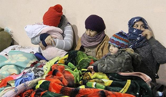 Şemdinli'de 280 göçmen yakalandı
