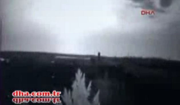 Çınar'daki saldırı 15 kilometreden kameralarda / VİDEO