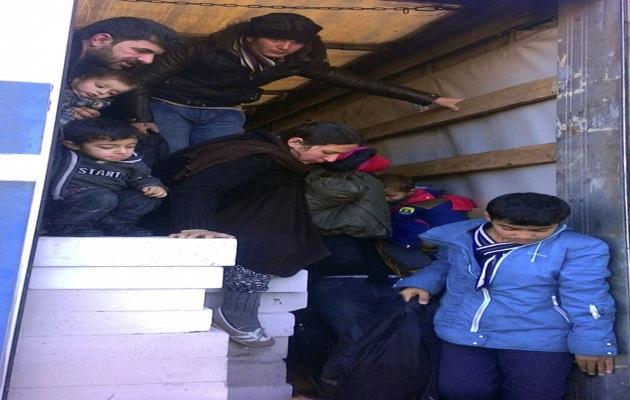 Edirne'de 106 sığınmacı yakalandı