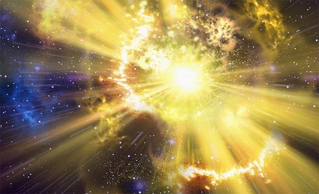 Evrendeki en büyük yıldız patlaması