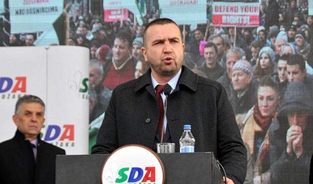 Novi Pazar'da Boşnaklardan protesto