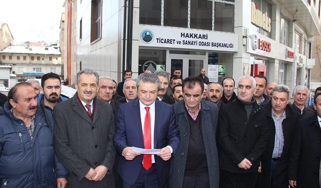 STK'lardan Hakkari'nin taşınması kararına tepki