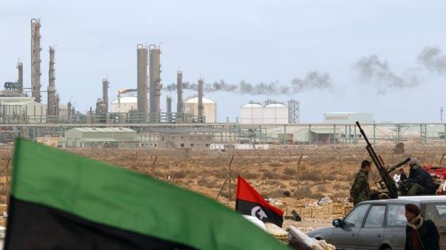 Libya'nın petrol rafinerisi yine saldırı hedefi oldu