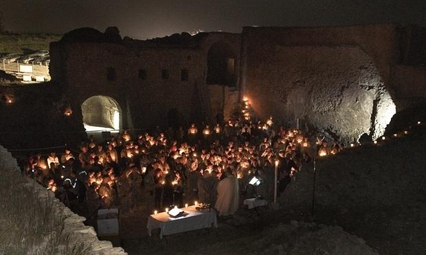 IŞİD, 1400 yıllık manastırı yok etti