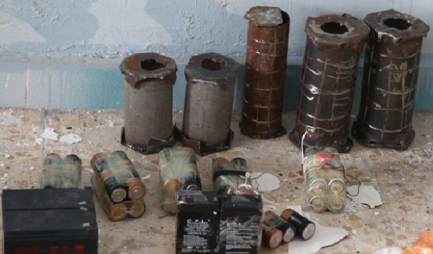 Cizre'de PKK'nın bomba deposu bulundu
