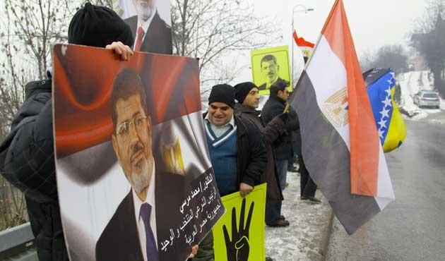 Saraybosna'da Mısır eylemi