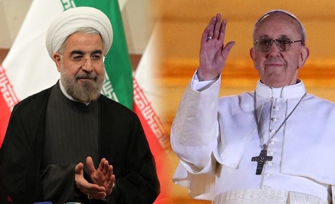 Hasan Ruhani, Papa ile görüşecek