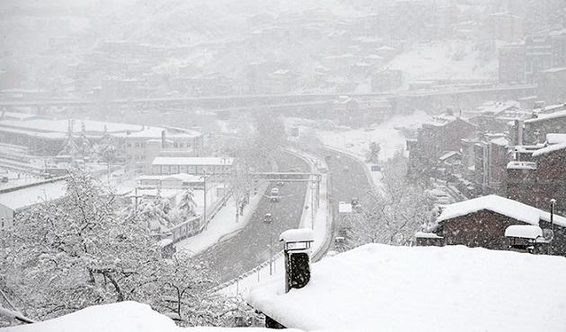 Trabzon'da son 30 yılın en soğuk gecesi